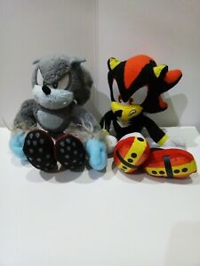 Sonic Tomy Sega Werehog and Shadow plush
