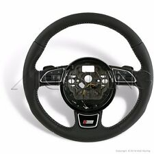 OEM Audi A6 A7 S-Line HEATED Steering Wheel G-Tronic Gear Paddles 4G0419091AAIXC