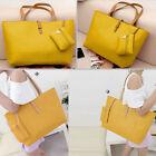 New Designer Large Womens Leather Style Tote Shoulder Bag Handbag Ladies GN