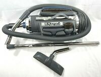ROYAL CANISTER VACUUM CLEANER 4150 Pony w/ Floor Tools Accessories & New Bags