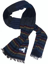 PAUL SMITH WOOLY STRIPED LIGHTWEIGHT SCARF BNWT VERY RARE made in Italy