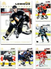 2001-02 Pacific Adrenaline **** PICK YOUR CARD **** From The Base SET + Parallel