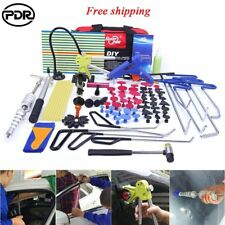 PDR Rod Tools Paintless Dent Repair Dent Lifter Puller Car Body Hail Removal Kit