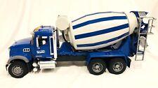 Bruder Toys MACK Granite Cement Mixer Truck Toy 02814 Kids Play 1:16 German Made