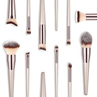 10x Professional Face Foundation Eyebrow Eyeshadow Brush Make Up Brush Set Tools