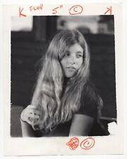 Caroline Kennedy - Vintage 8x10 Wire Service Photograph
