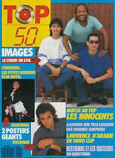 TOP 50 079 (7/9/87) IMAGES MADONNA JEAN-JACQUES GOLDMAN BRUCE WILLIS INNOCENTS