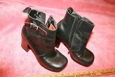 Harley-Davidson Motor Cycles Ladies Black Boots Size 7