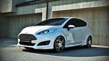 Spoilerlippe für Ford Fiesta MK7 VII Frontschürze JA8 ST RS Frontansatz Neu ABS