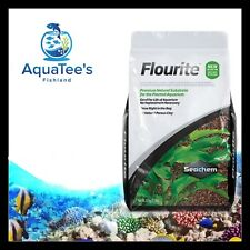 Seachem Flourite 7kg Planted Aquarium Fish Tank Substrate Nano Shrimp Aquascape