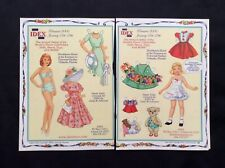 IDEX Show  Magazine Paper Doll Promotion, 2006, By Judy Johnson