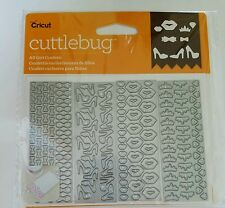 Cricut Cuttlebug Cut & Emboss All Girl Confetti Dies 2003776
