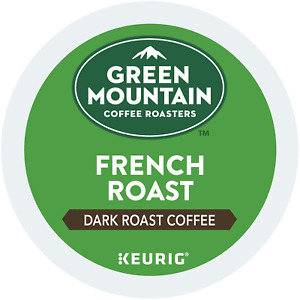 Green Mountain French Roast Coffee 24 to 144 Count Keurig K cups Pick Any Size