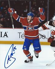 Andrew Shaw Signed 8x10 Photo Montreal Canadiens Autographed COA
