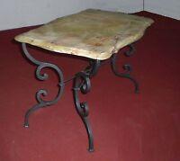 Tavolo Pranzo Tavolino Salotto FERRO BATTUTO  Realizzazioni Personalizzate . 671