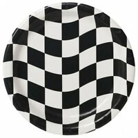 Chequered Flag party table wear