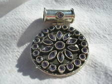 Amethyst Pendant in Sterling silver NEW Retail $170 NEW