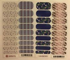 Jamberry Nail Wraps Half Sheet Retired Hostess Exclusives Lot #8