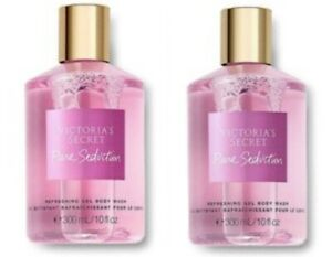 2 Victoria's Secret LOT OF 2 PURE SEDUCTION Refreshing Gel Body Washes Brand NEW