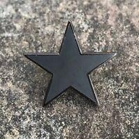DAVID BOWIE BLACKSTAR ENAMEL PIN BADGE   MUSIC ALBUM LEGEND   ART ROCK