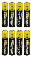 8 x LLOYTRON 800 mAh AAA PRE CHARGED RECHARGEABLE Ni-MH BATTERIES CORDLESS PHONE