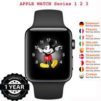 Apple Watch Series 1 2 3 38mm 42mm GPS +4G Celluler Sport Band Aluminium Case
