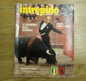 Intrepido N.24 del 1980 Bearzot - Speciale Europa 80! Ottimo! ▓