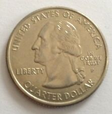3 United States US 25 Cents - Florida, Tennessee, Oklahoma - Circulated Money