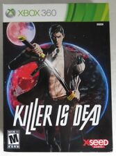 EMPTY BOX ONLY !! XBOX 360 KILLER IS DEAD COLLECTOR'S BOX ONLY !!     (INV13473)