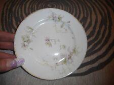 Vintage Small Plate CH Field Haviland Limoges GDA Purple Flowers