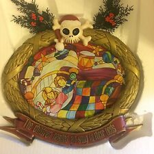 Disneyland Nightmare Before Christmas Stained Glass Plaque #4 Haunted Mansion