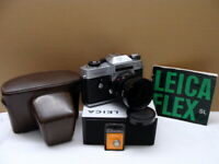 "Leitz Wetzlar - Leicaflex SL Summicron 1:2/50mm ""1972 Olympia Edition""- TOP!"