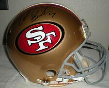 Colin Kaepernick SF 49ers Autographed Proline Helmet - Schwartz COA A148678