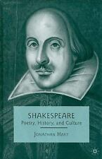 Shakespeare: Poetry, History, and Culture, , Hart, J., Good, 2009-12-18,