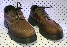 Dr. Martens AirWair Waterproof 8729 Brown Leather UK 8 US 9 England Oxford Shoes