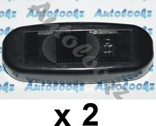 2 x 12V IN-LINE CABLE ON-OFF SLIDE SWITCH BLACK light lamp car caravan inline