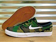 Nike SB Stefan Janoski Canvas Camo Skate Shoes Army Green SZ 13 ( 615957-901 )