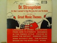 DR  STRANGELOVE  AND OTHER GREAT MOVIE THEMES   LP    FILM  SOUNDTRACKS  (DEMO)