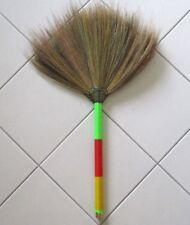 Straw Grass Besom Natural Handmade Small Soft Broom Whisk Broom
