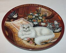 Higgins Bond Glamourpuss Cat Plate Issue #2 Mysterious Case of Fowl Play