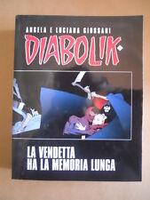DIATONIK EXTRA SERIE Diabolik n°1 - La Vendetta ha la memoria lunga  [G412]