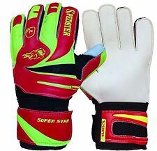 Kids goalkeeper, goalie, soccer gloves, FINGER PROTECTED SIZE:2*