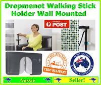 Dropmenot Walking Stick Umbrella Cane Holder Can be Wall Mounted FREE Freight