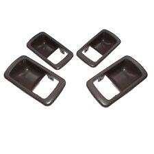 For 92-96 Toyota Camry Inside Brown Door Handle Trim Bezels Left Right Set 4pcs