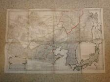 1732.carte map tartarie chinoise.China.Chine Coree Korea Asie Japon.Anville