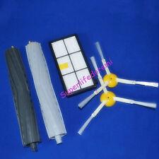 Extractor Brush +  side brush + filter for iRobot Roomba 800 900 series 980 880