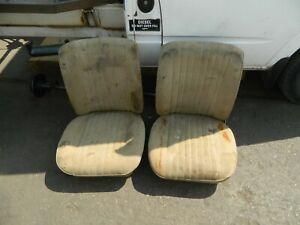 FORD ESCORT MK1 MK2 2 DOOR FRONT SEATS PAIR
