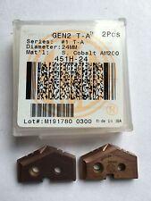 451H-24 AM200 con rivestimento Super Cobalto Gen 2 T-UN INSERTO TRAPANO 24 mm