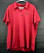 Cutter & Buck Women Plus Size XXXL 3XL Arkansas Short Sleeve V-Neck Polo Shirt
