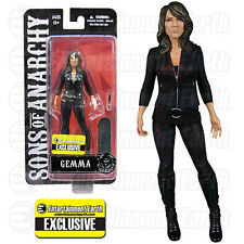 """SONS OF ANARCHY SOA Gemma Teller 6"""" Figure EE Exclusive Bloody Variant w/fork"""